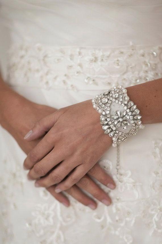 bridal jewelry bracelet cuff