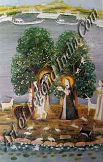 Mira and Krishna