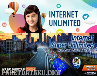 Paket Internet Unlimited XL murah