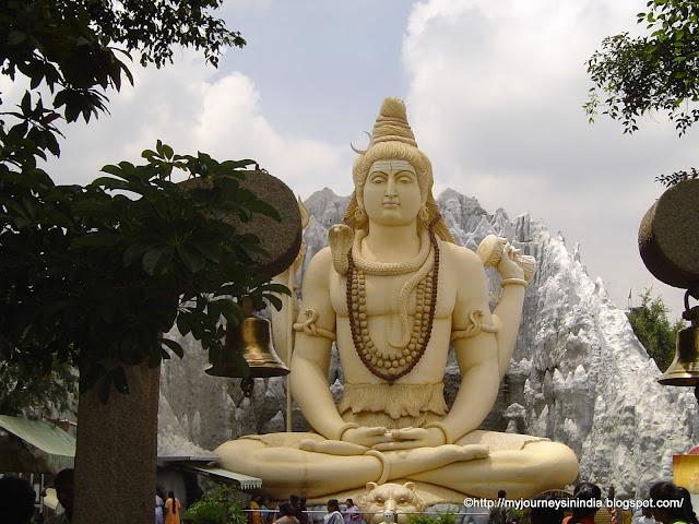 Big Shiva Statue at Shiva Temple Old Airport road