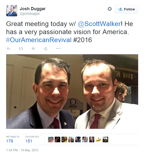 Photo of Scott Walker & his friend