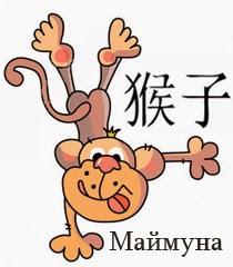 Китайски хороскоп 2014 Маймуна
