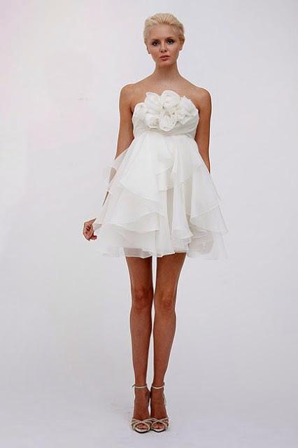 Vestidos cortos de niрів±a para boda