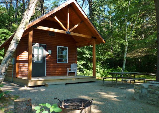 The Brownstone Birding Blog: Wilgus State Park Cabin
