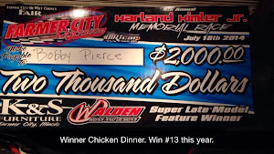 Bobby wins  the 4th ANNUAL JR KIMLER MEMORIAL 7-18-2014