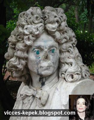 Michael Jackson szobor