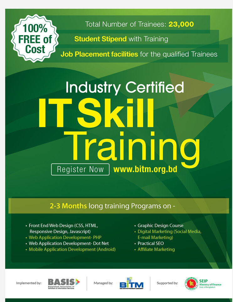 Free IT Skill Training