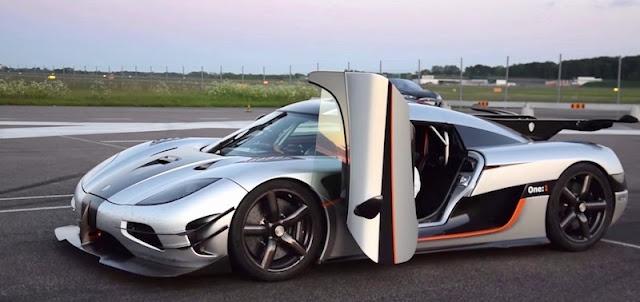 ケーニグセグのスーパーカー「One:1」が0-300km/h加速の世界記録を更新!