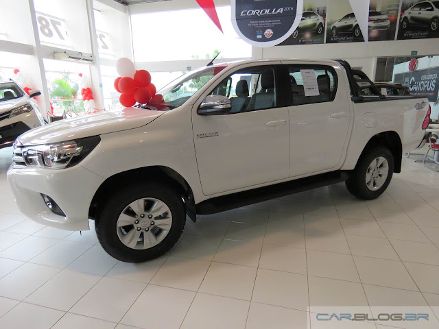 Toyota Hilux 2016 SRV