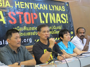 [video] Malaysia civil society organizations joint statement on Lynas issue