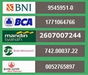 Nomor Rekening Donasi LMI Madiun