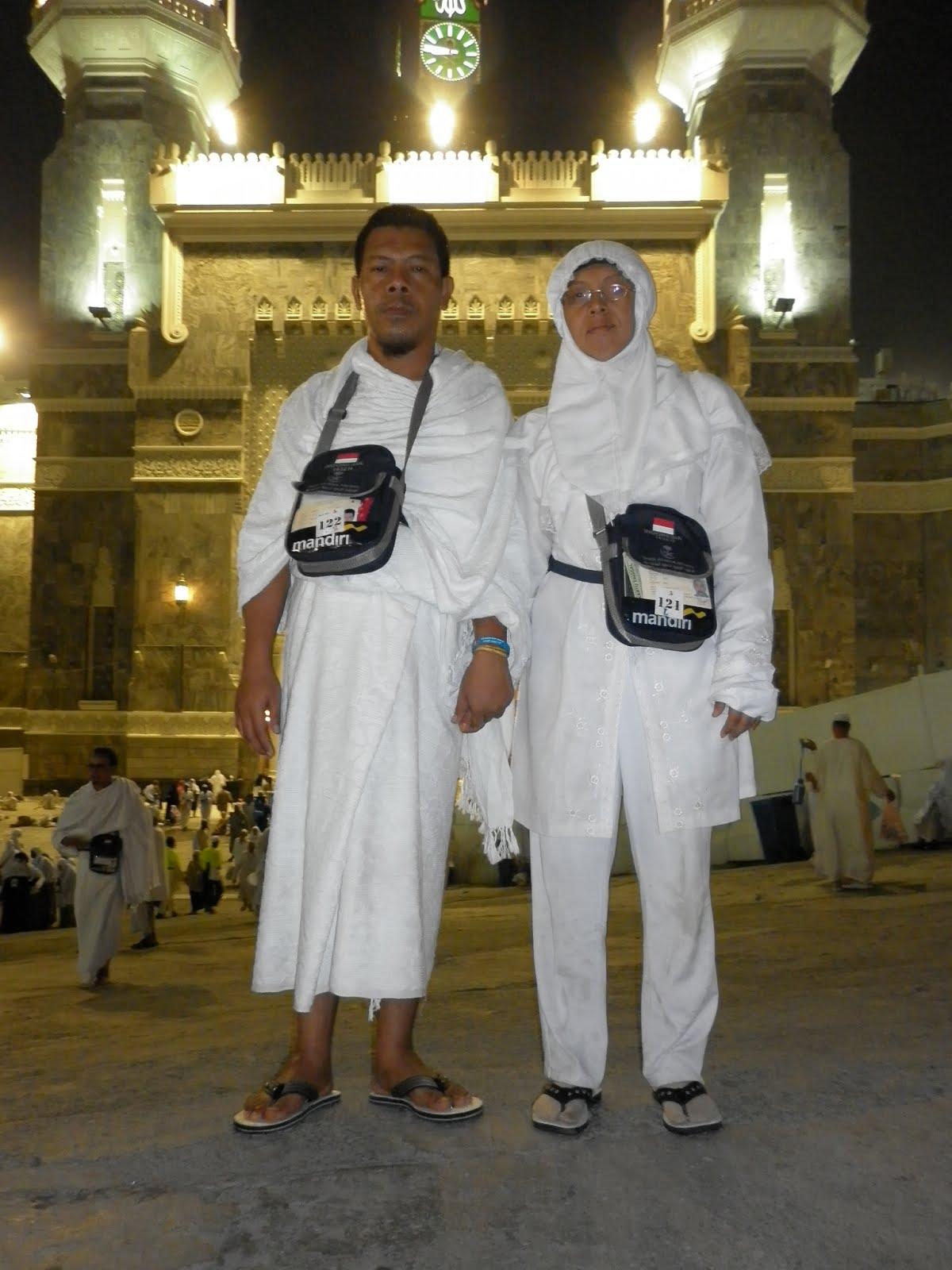 Di Depan Masjidil Haram