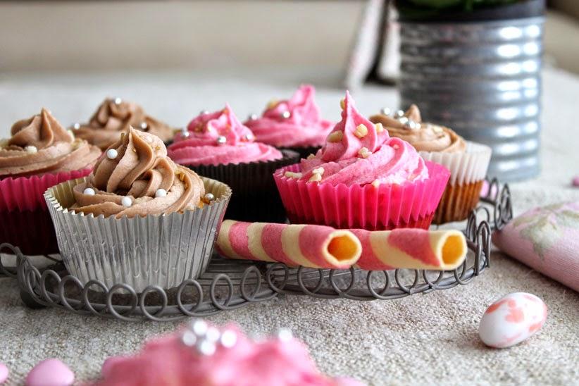 Cupcakes con natillas Dhul
