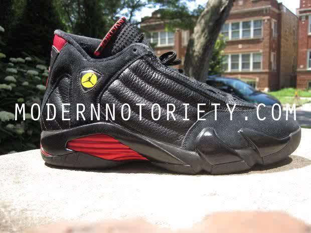 jordan 14 black and red