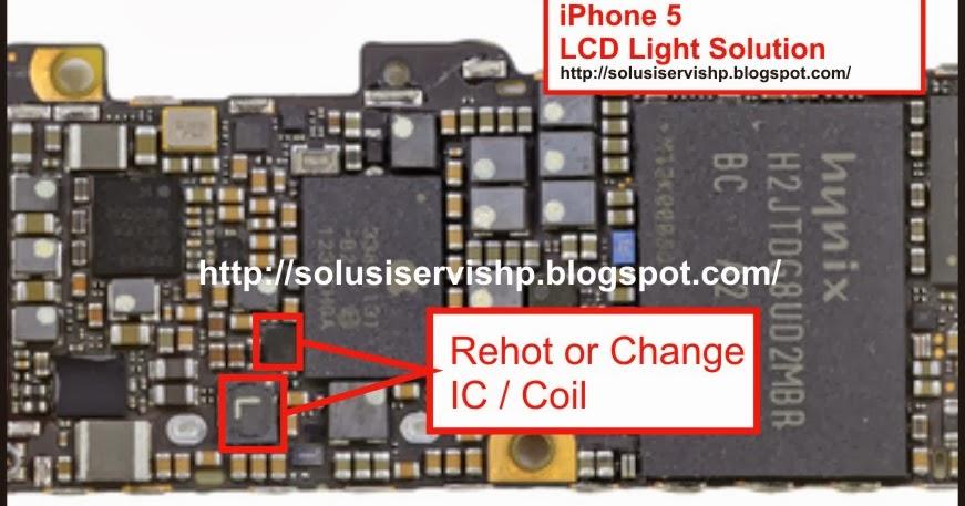 iphone 5 backlight solution solusi servis handphone. Black Bedroom Furniture Sets. Home Design Ideas