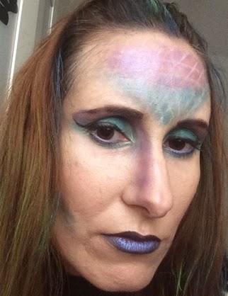 Maquillaje de sirena