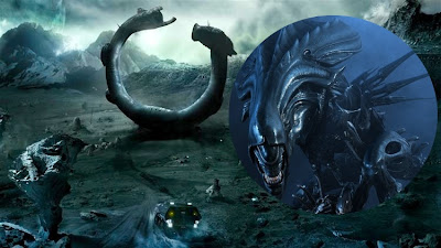 Pin deacon to xenomorph alien discussions on pinterest for Prometheus xenomorph mural