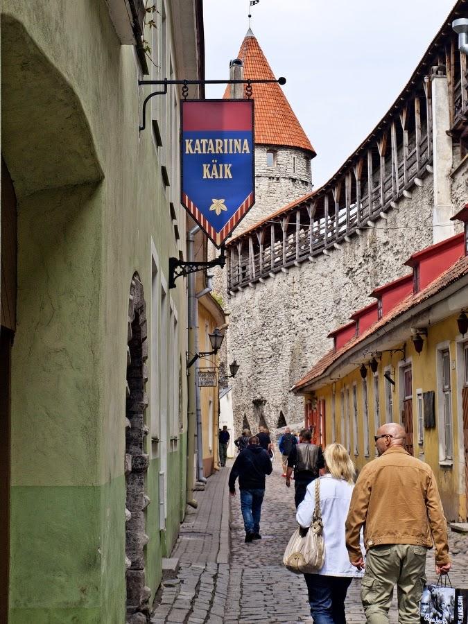 Старый Таллинн. Улица Мююрийвахе