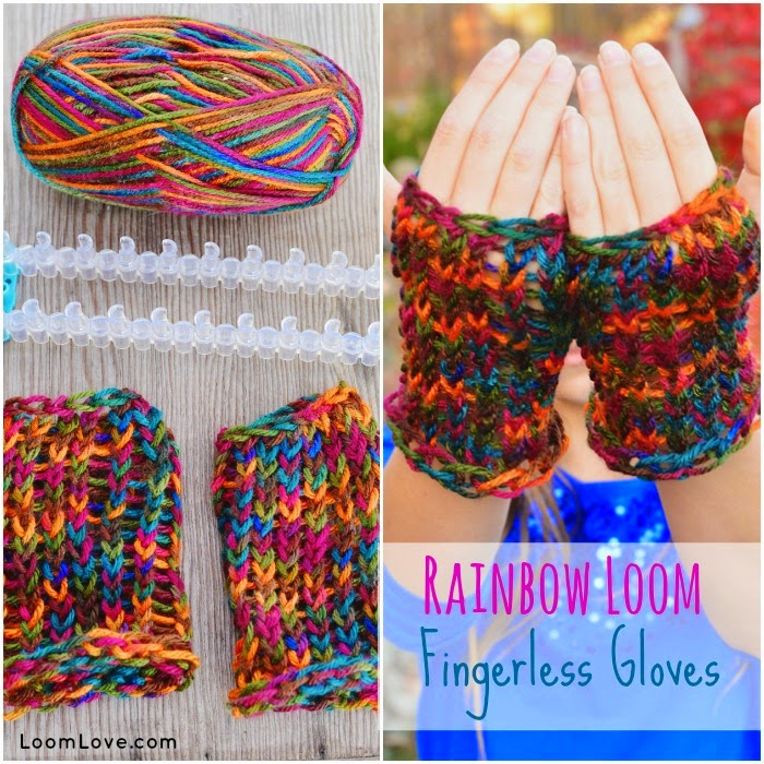 How to Knit Fingerless Gloves with Yarn