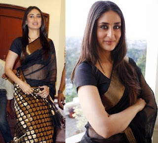 sexy kareena kapoor in saree