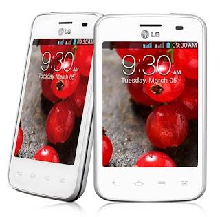 Gambar LG Optimus L3 II Dual E435 Putih