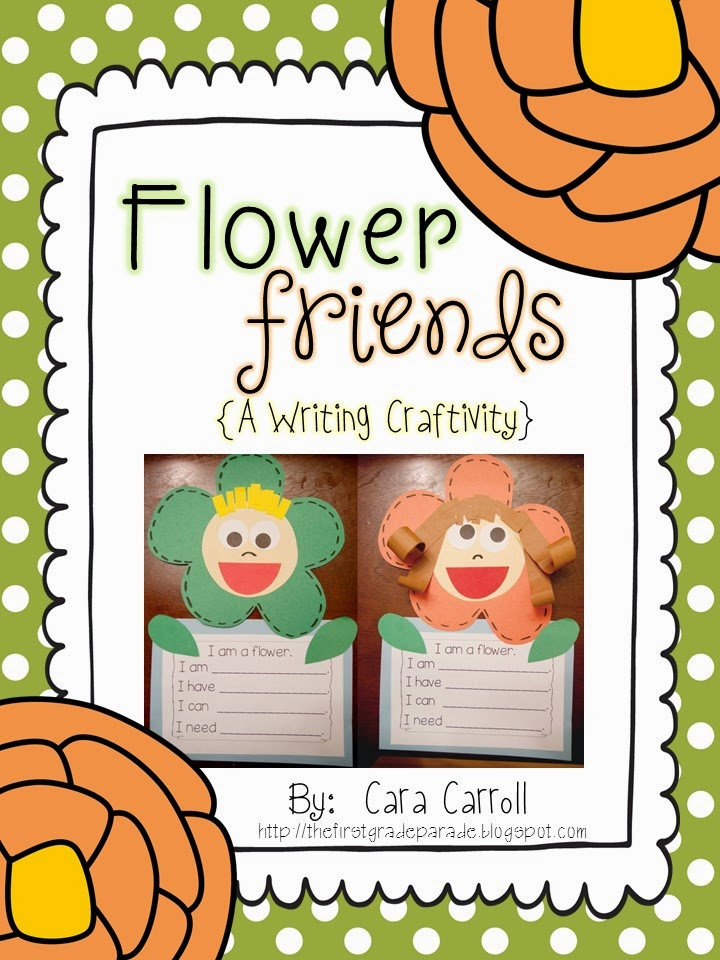 Flower Friends (Writing Craftivity)