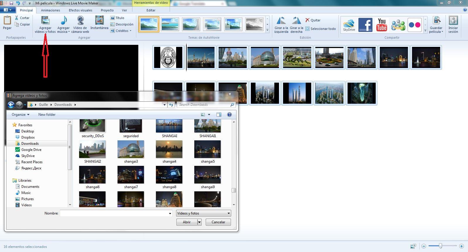 El Blog de Manolo: EDICION DE VIDEOS USANDO WINDOWS MOVIE ...