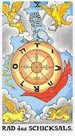 Значение на Таро карта X Колелото на съдбата - хороскоп за 2015 година