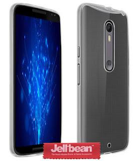 Jellibean Motorola Moto X Style Clear Gel Silicone Case Cover + Screen Protector