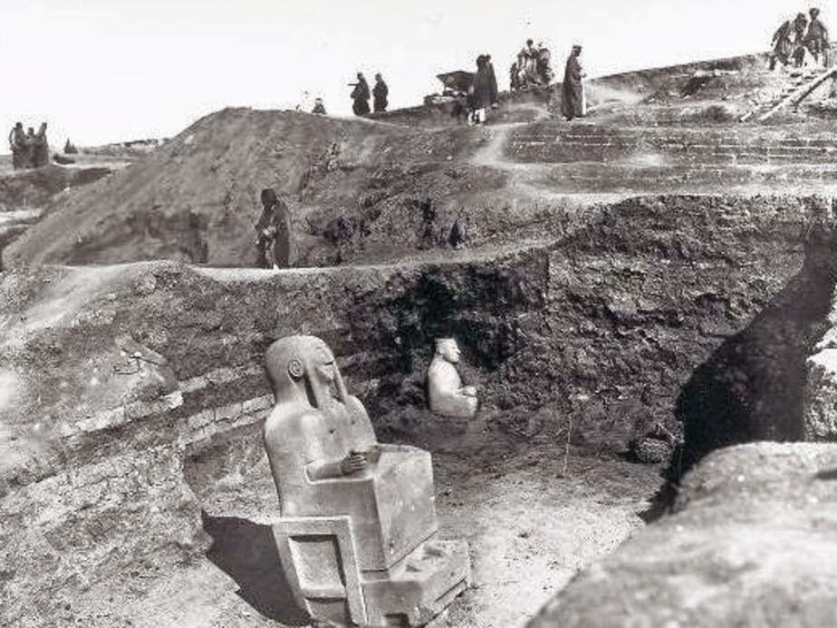 Retirada das esculturas (1899), Aleppo, Síria, fronteira com Turquia