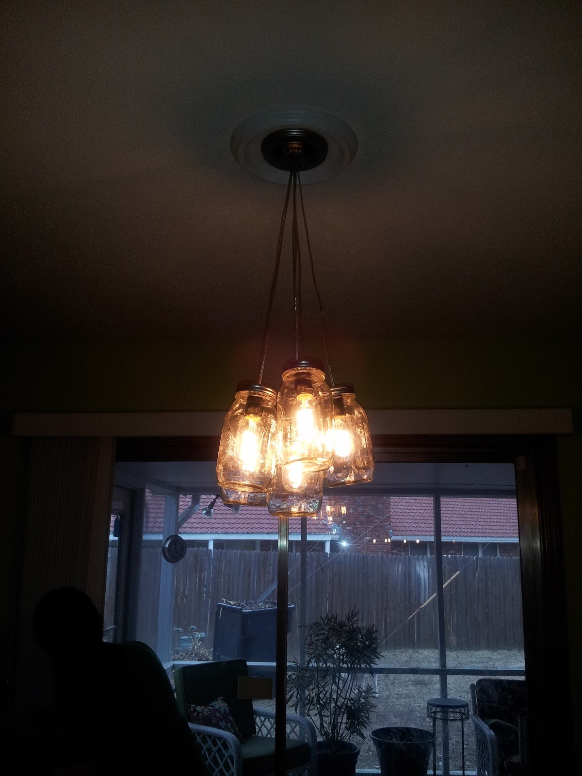 How To A Girls Guide To Finding Herself Diy Mason Jar Chandelier