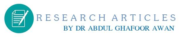 PROF. DR. ABDUL GHAFOOR AWAN