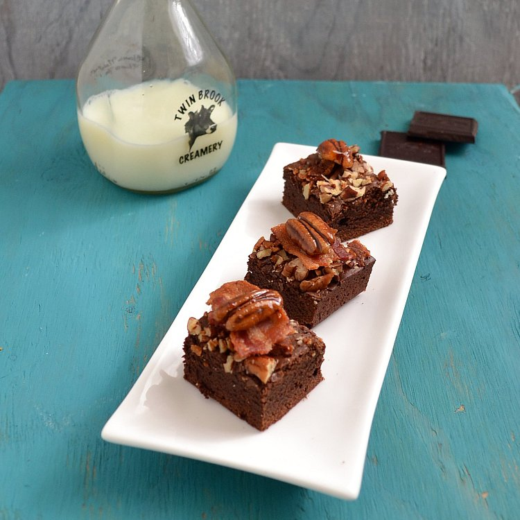 Bourbon Bacon Brownies Recipes — Dishmaps