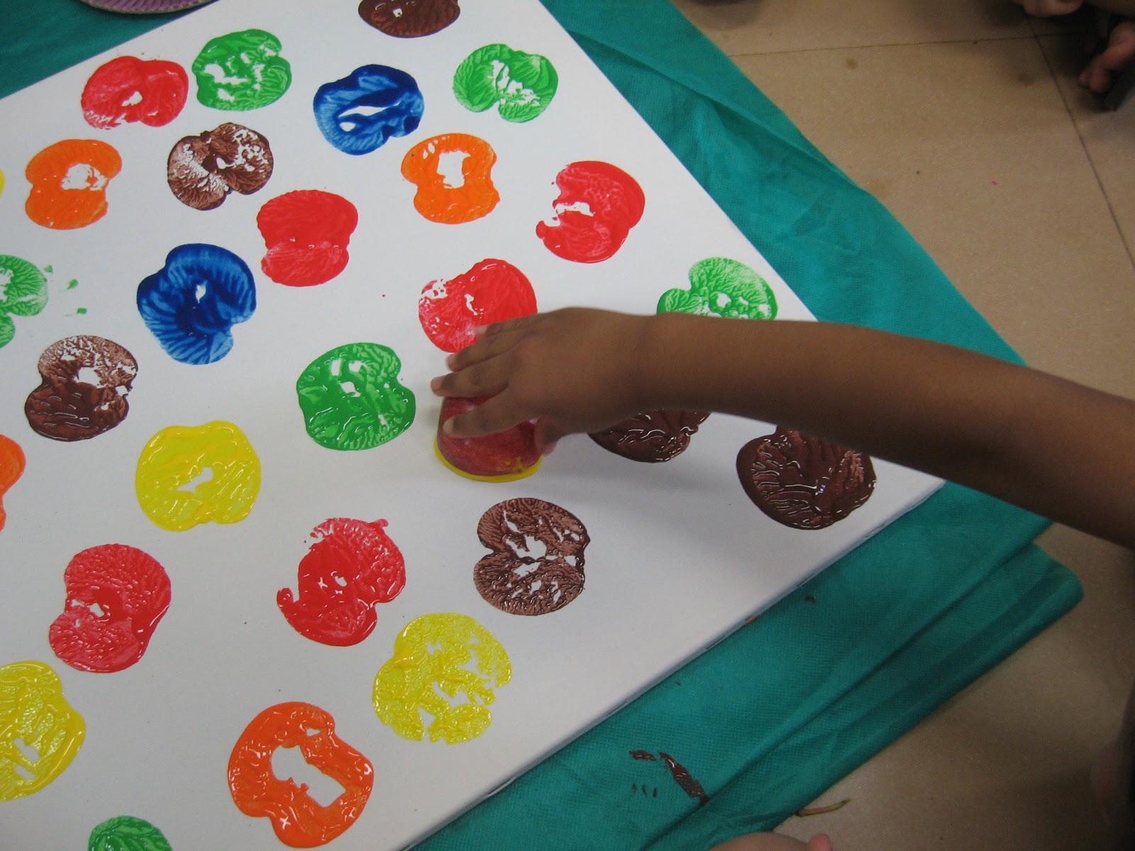 Muitas vezes Ensinando Arte com Amor: Técnicas de pinturas IW72