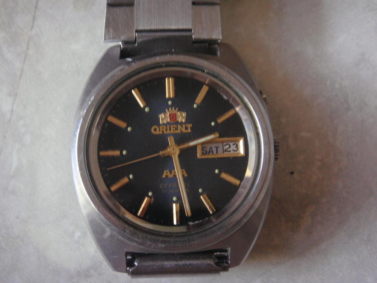 jam tangan otomatis on Jam Tangan ORIENT otomatis | Koleksi Barang Kuno Jadul