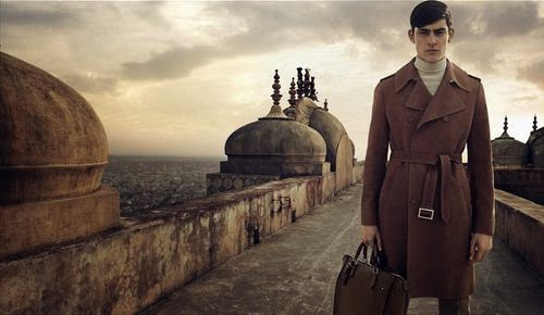 Louis Vuitton Menswear Spring/Summer 2015 Campaign featuring Rhys Pickering