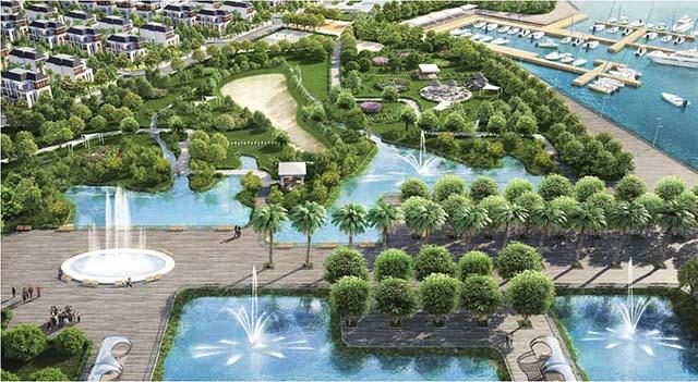 Công viên cây xanh Vinhomes Central Park bên sông lớn nhất TP. Hồ Chí Minh