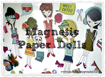 Tutorial: DIY Magnetic Paper Dolls