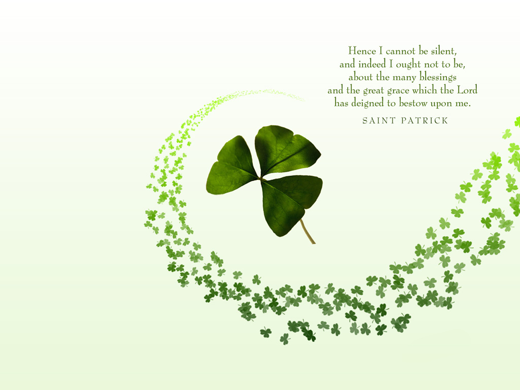free download st. patrick's day powerpoint backgrounds - ppt garden, Powerpoint templates