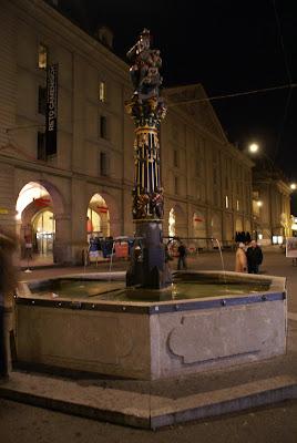 Child Eating Ogre fountain Switzerland