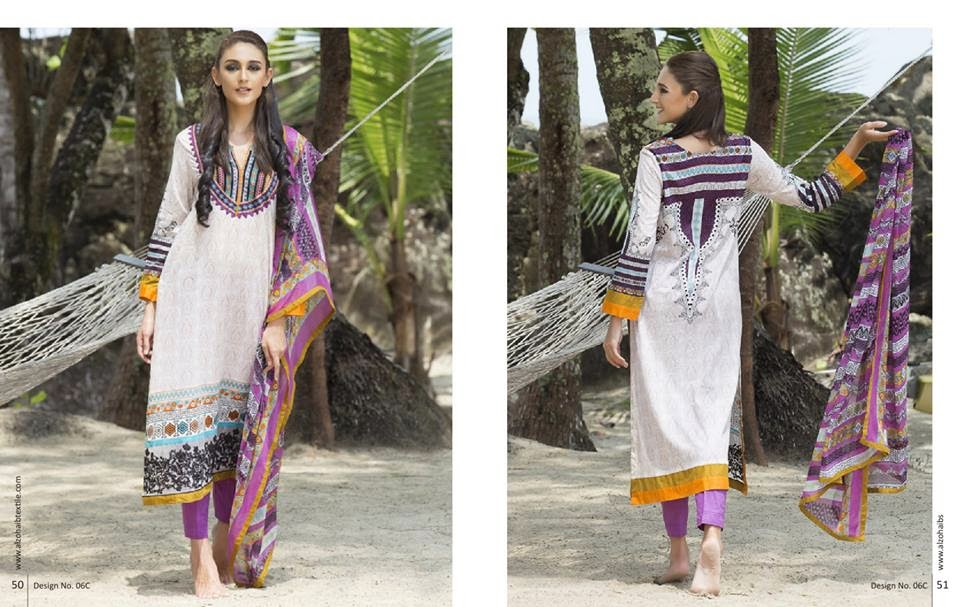 Anaya Embroidered Summer Lawn Collection 2015