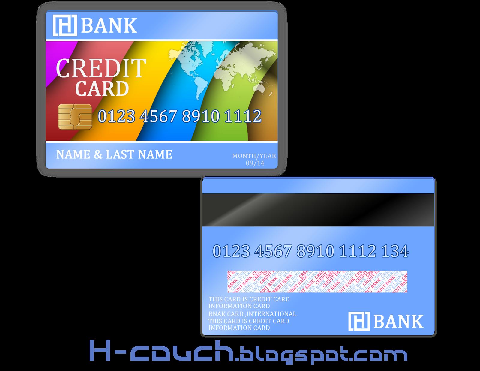 تحميل بطاقة البنك مجاني {PSD }