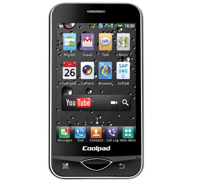 Reliance Coolpad D530 Android 2.1-based CDMA phone announced