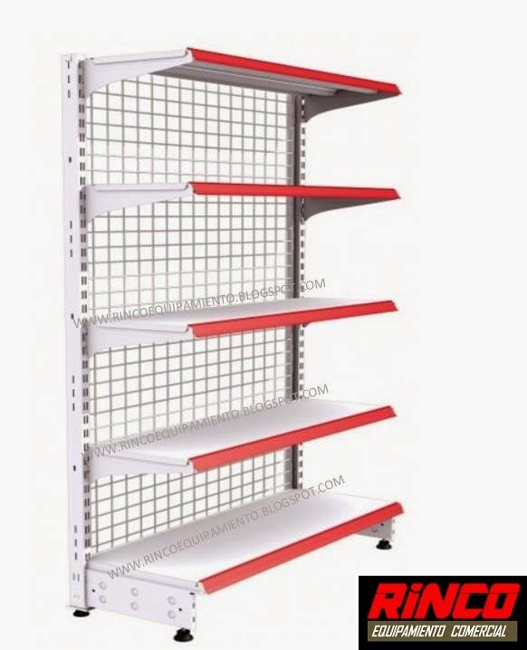 Rinco equipamiento comercial estanter as met licas para for Estanterias metalicas precios
