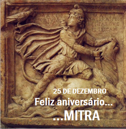 Feliz aniversário... Mitra...