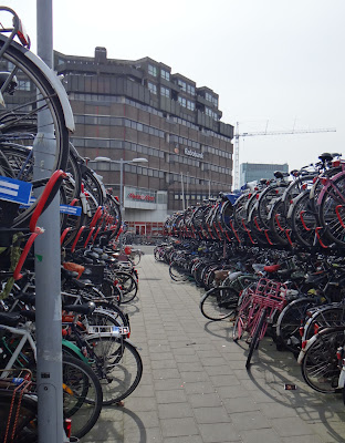 Bicycle parking in Utrecht