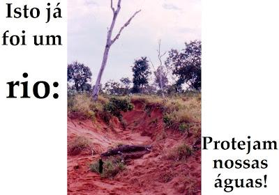 Isto já foi um rio - é o que vai virar regra, com o novo Código Florestal