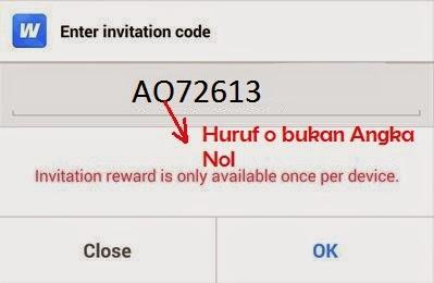 Invite Code Whaff