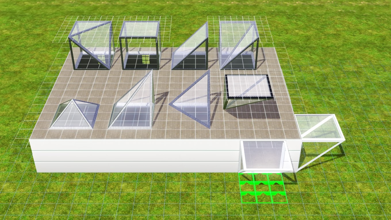 Sims  How To Build A Green House