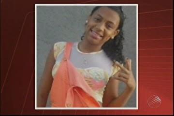 Tainara Moreira Azevedo foi baleada no salão de beleza (Foto: Imagens / TV Bahia)